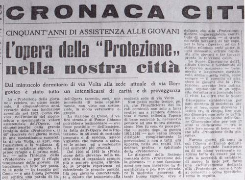 Quotidiano L'Ordine 1952'